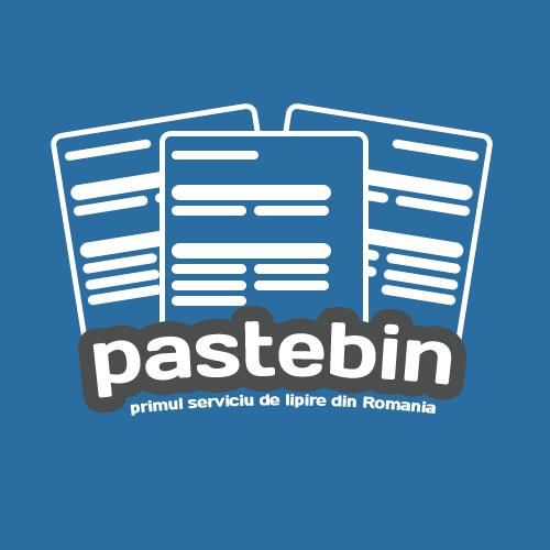 PasteBin.ro - Copiaza si lipeste